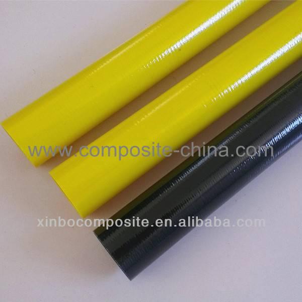 Colorful Fiberglass insulated tubes,Fiberglass anti-corrosion tubes,high strength tube