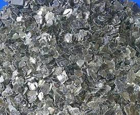 Raw Silvery Vermiculite