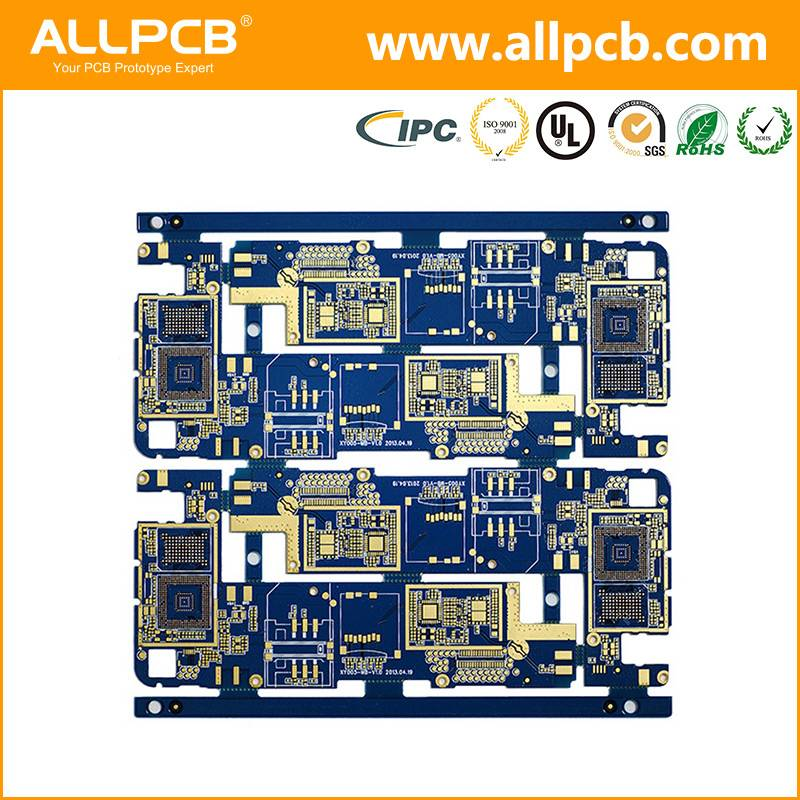 customized high standard high frequency pcb circuit board