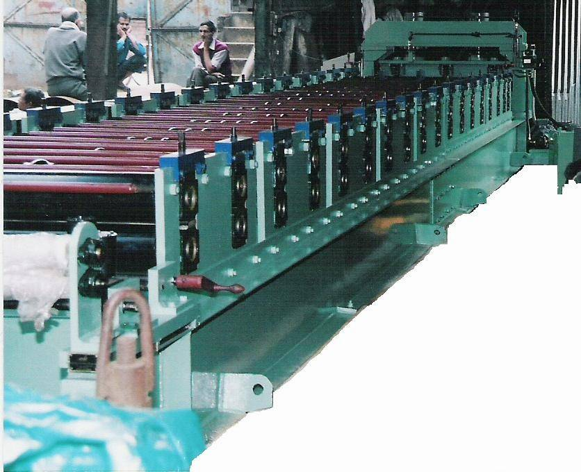 ROOFING SHEETS MAKING MACHINERY