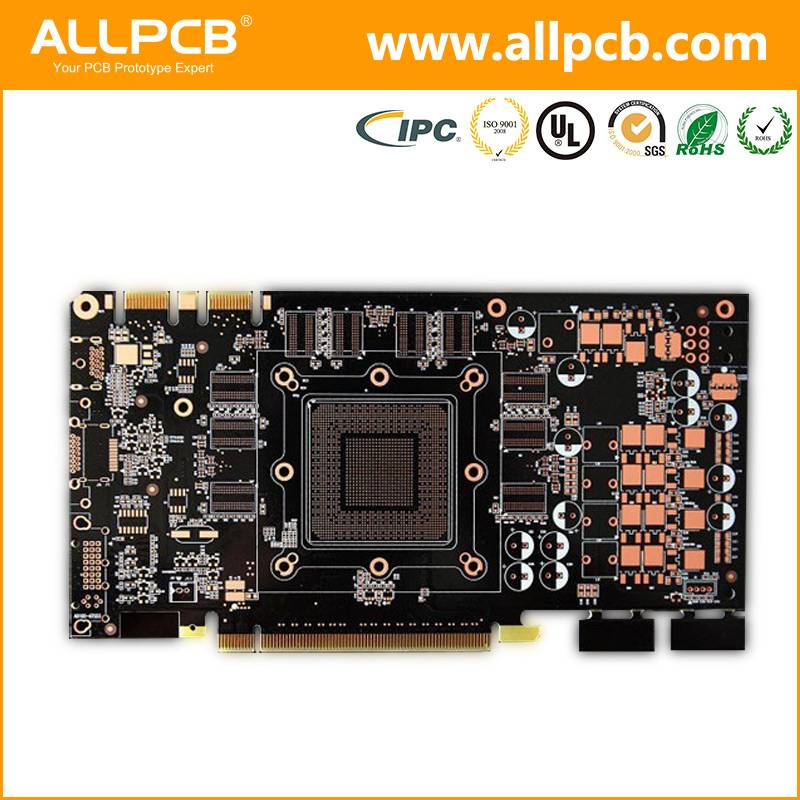FR-4 low cost custom-made 2 layer 94v0 pcb board fabrication