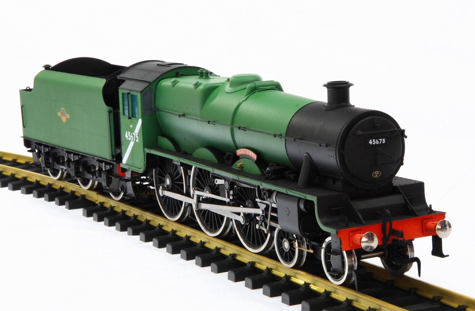 Brass Model Train for Collector, G Scale ( British Jubilee )