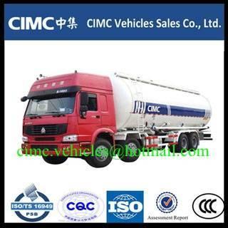 HOWO 8x4 bulk cement truck