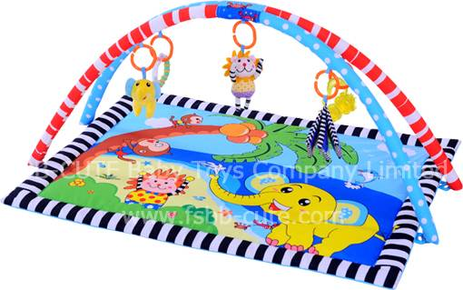 Lovely animals beach baby play mat