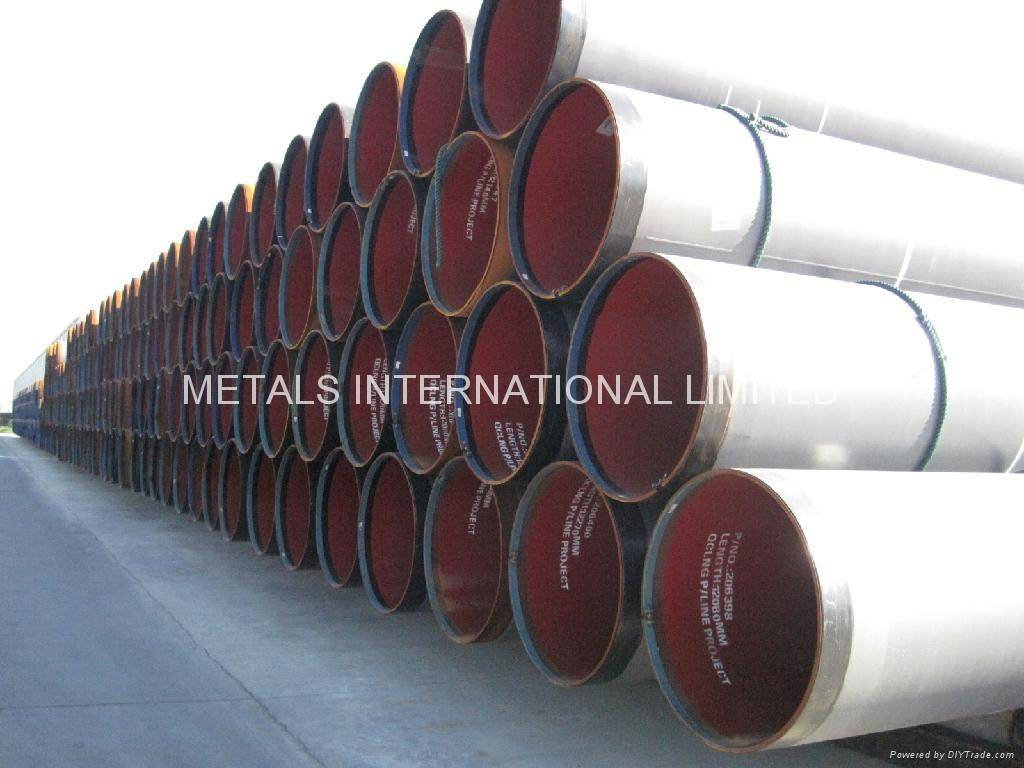API 5L,AS2885,ISO 3183,DNV OS-F-101-DSAW/LSAW Steel Pipe