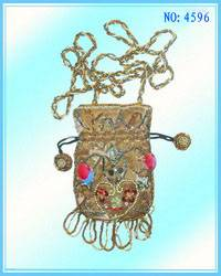 beaded bags, waist bags, lady bags,women bags ,craft bags,printing bags, pearl embroider bags,paille