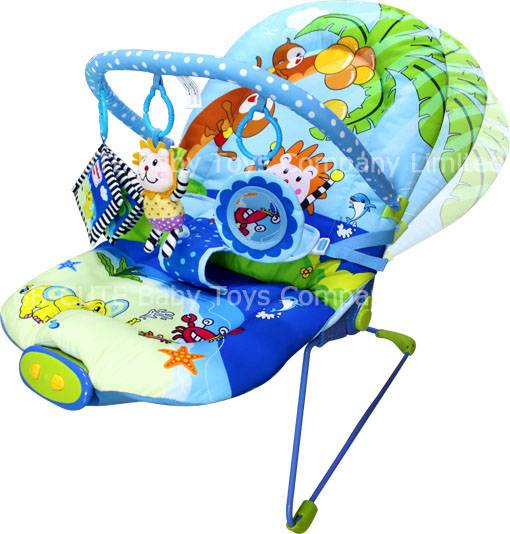Ajustable Lovely Animals beach baby bouncer