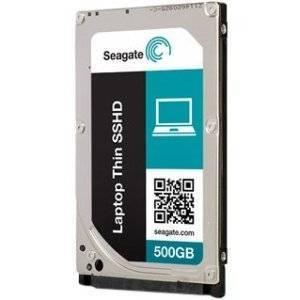 Seagate Laptop Thin SSHD 500GB SATA 6Gb/S NCQ Solid State Hybrid Hard Drive Disk Internal HDD