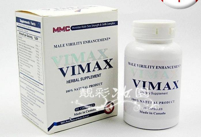 Canada VIMAX Herbal Supplyment 60pills