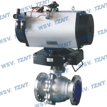 Pneumatic 904L Ball valve