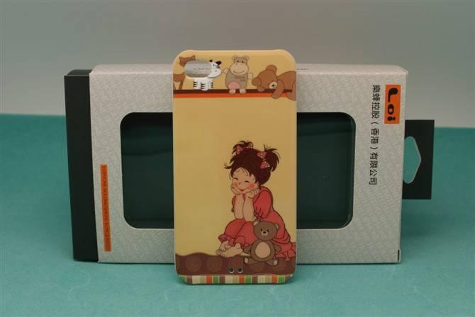 Mushroom Female Design Mobile Phone Cases for Iphone 4G/4S