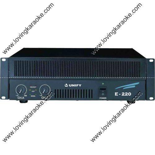 Unify WKS-E220 Professional Dual Channel 2×250W Power Amplifier