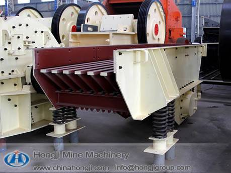 Vibrating Mineral Processing Feeder in Building Materials