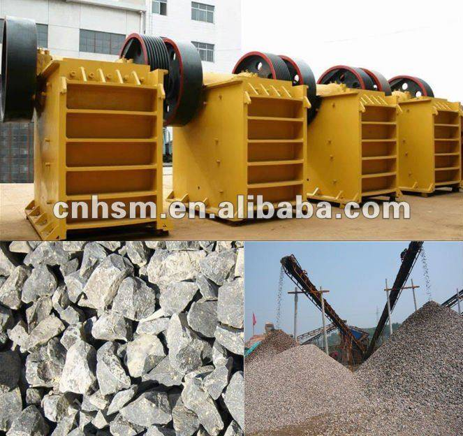 HSM Best Quality Small Jaw Crusher Price