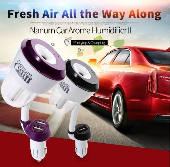 Factory Wholesale Fashion Car Humidifier with usb