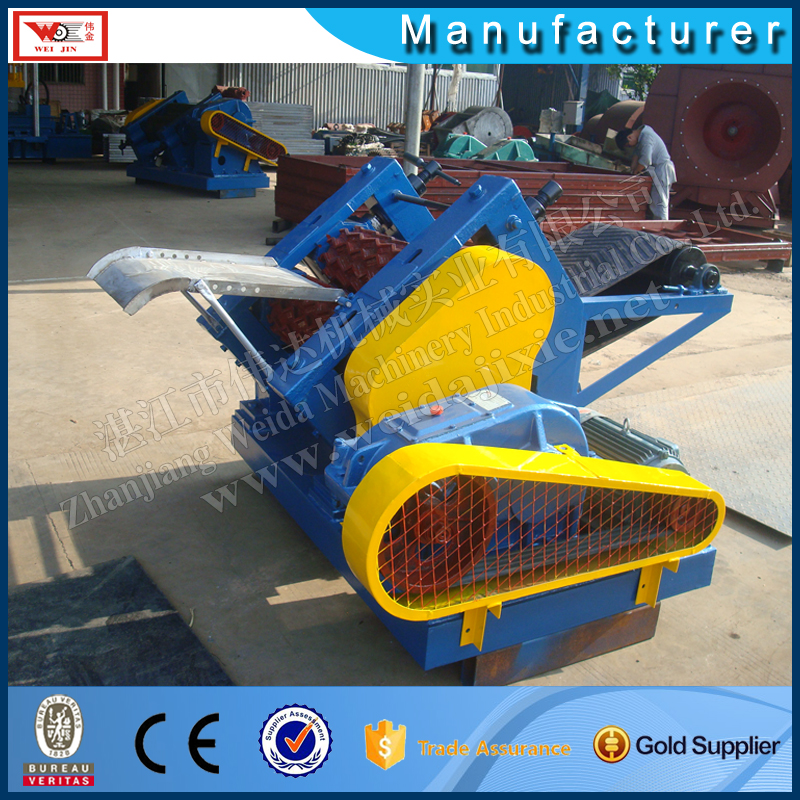 Dry rubber crusher Four rollers tablet machine Natural rubber double roller crusher