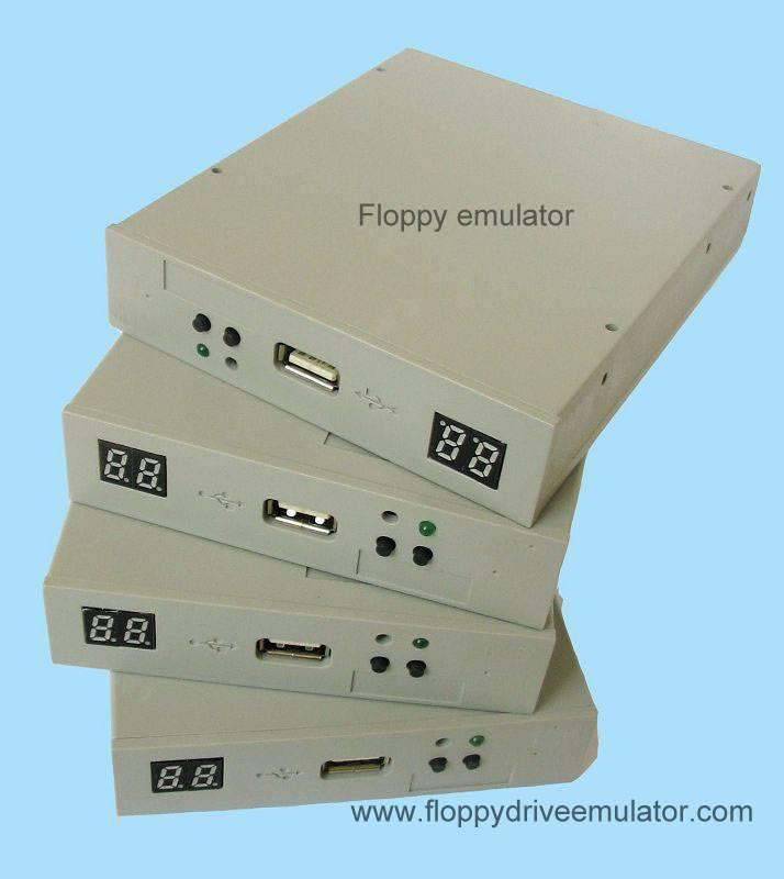 floppy driver emulator for electronic keyboard