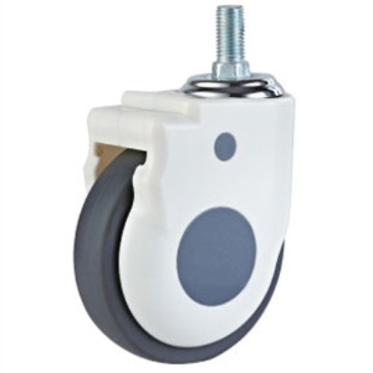 American Style Ball Bearing Plastic PU Medical Caster