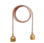 Brass Capillary Tube with Nuts