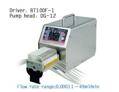intelligent dispensing peristaltic pump