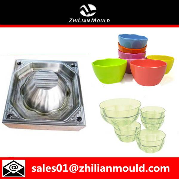 high quality plastic bowl mold making injection mould manufacturer