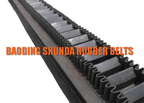 EP,NN Fabric Corrugated Sidewall Conveyer Belt