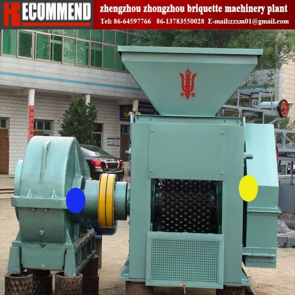 carbon powder briquetting machine