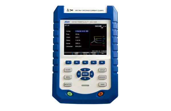 Power Quality Analyzer SA2100