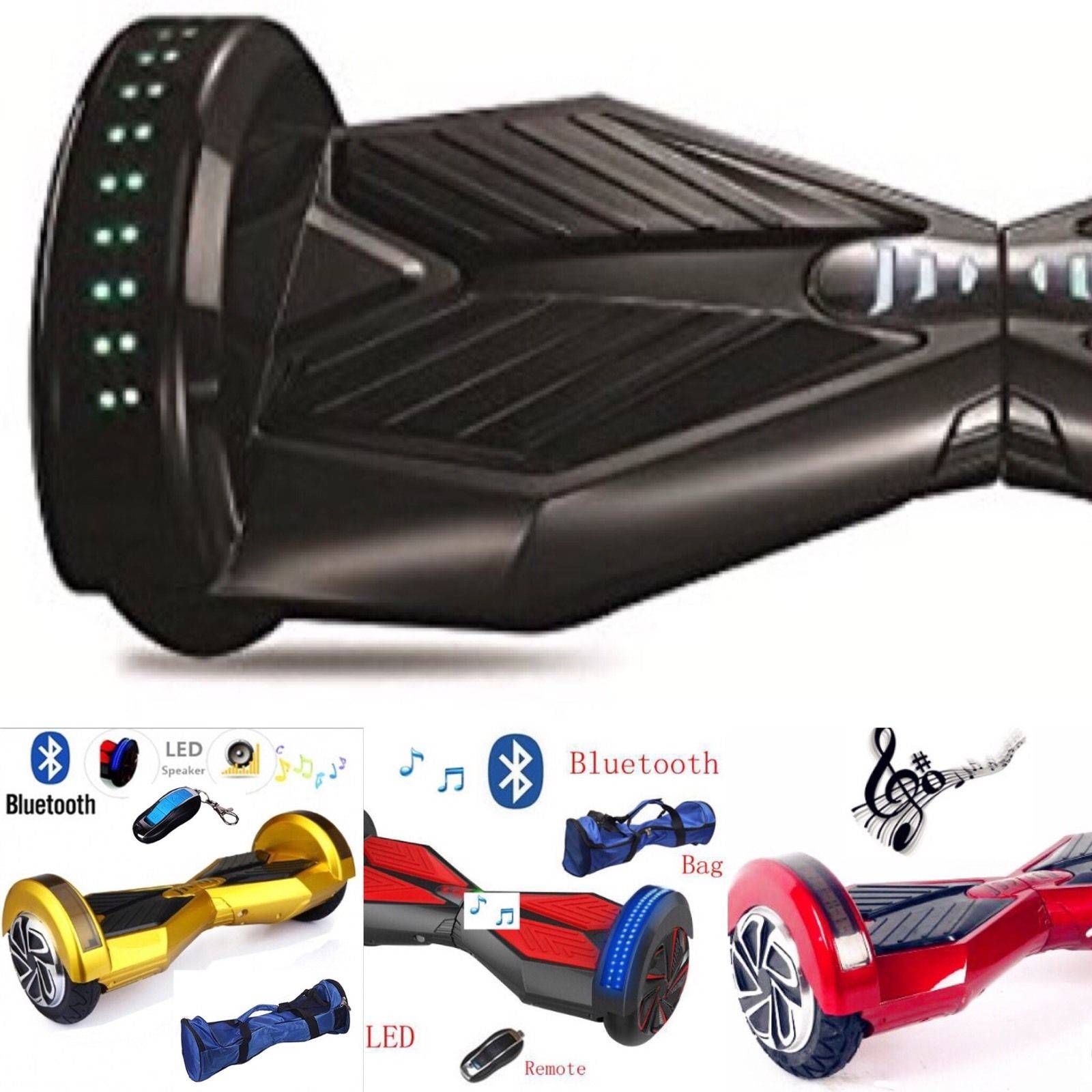 8 Smart Balance Scooter, UL Certified, High Quality, 1 Year warranty, Bluetooth