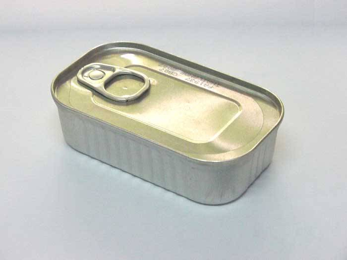 Canned Sardine in Tomato Sauce 125 g. EO Lid