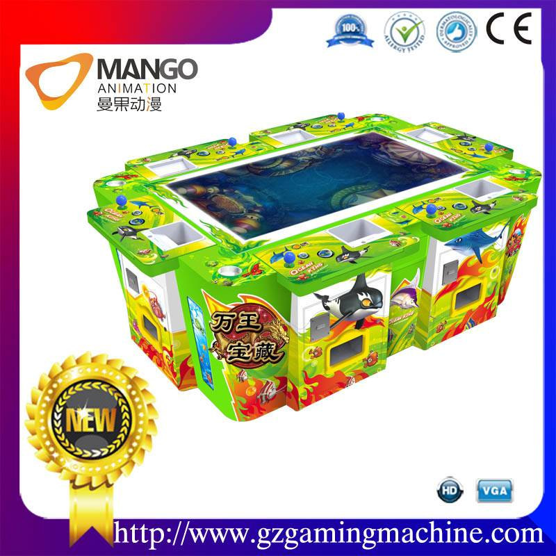 coin operated gambling game machine for sale named king of treasures