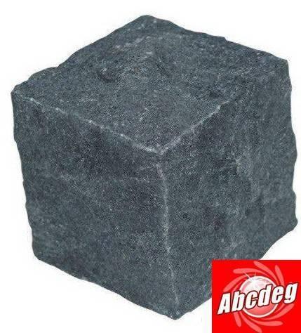 Black cube stone,cubestone,stone paver, granite paver