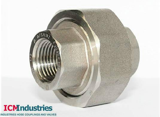 Forged 3000lb stainless steel screw /socket weld pipe fitting