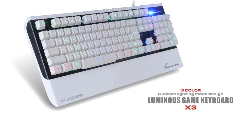 wired standard computer keyboards gaming keyboard X3