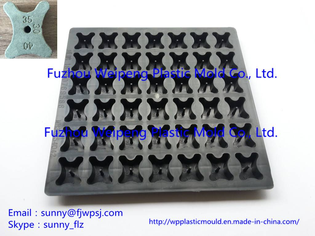 Concrete Spacers Plastic Injection Mold Wholesale Accept OEM Customized