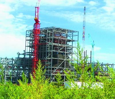 Steel Frame for India 6600mw Power Plant, 24, 000 Tons