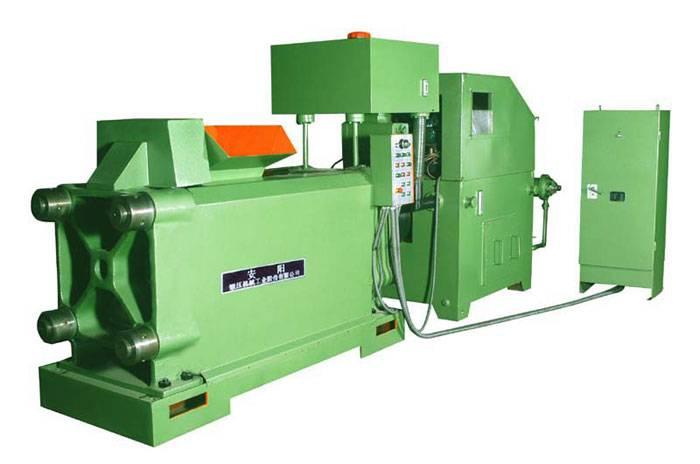 metal chip briquetting press