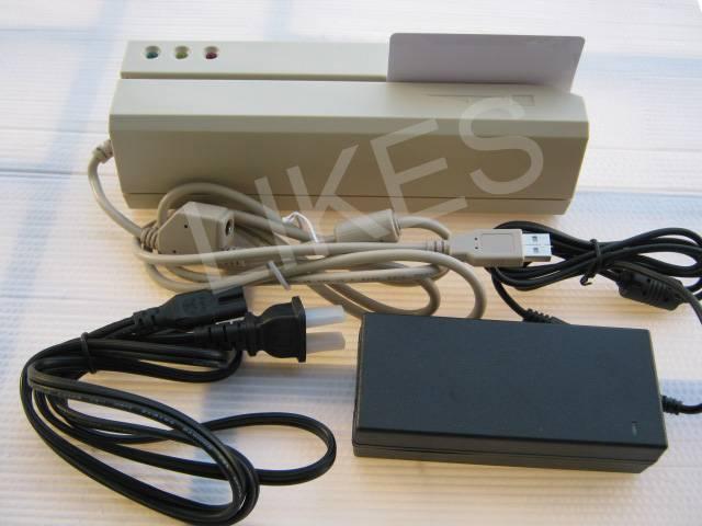 Magnetic Stripe Card Reader/Writers (Encoders)MSR609 NEW Model fast speeding, no driver