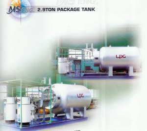 LPG Filling Station with Dispenser