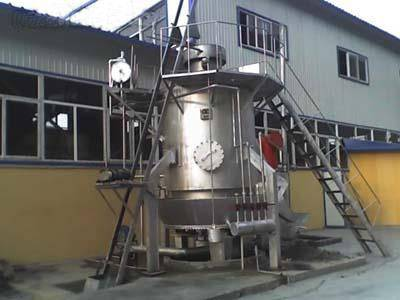 Single-Section Low Air Pressure Gasifier