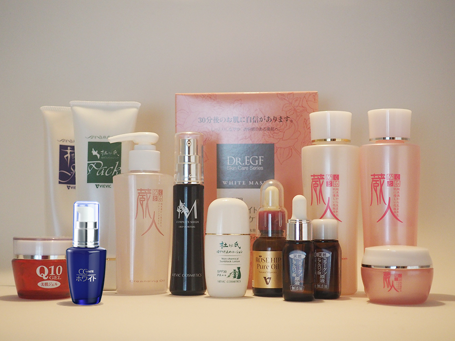 Looking for Sole Agents for Japan Natural Luxury Care