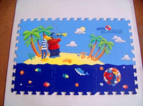 Printed Puzzle EVA Foam Floor Mat