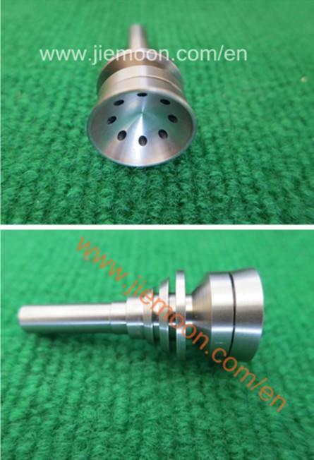 Gr.2 Domeless Titanium Smoking Nails,Titanium Dabbers,Male/Female Titanium Nail