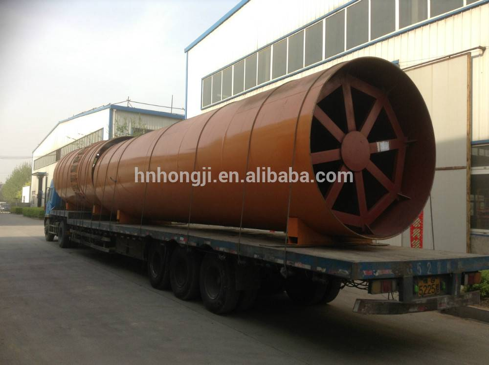 Limestone Rotary Kiln 150 T/D Hot sell to Bolivia