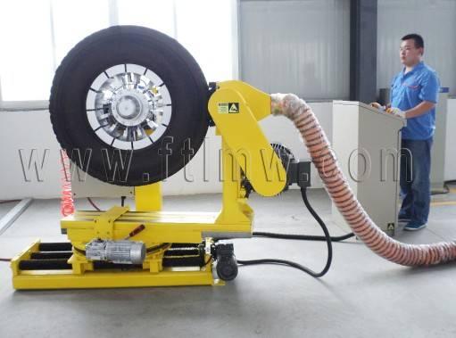 Equipments for tyre retreading