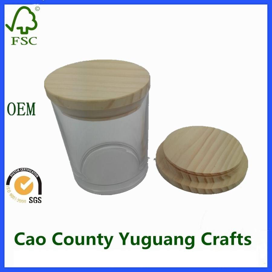 Wooden Lids For Candle Bottle