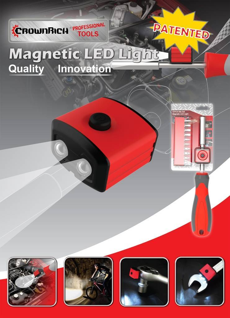 magnetic led for tools