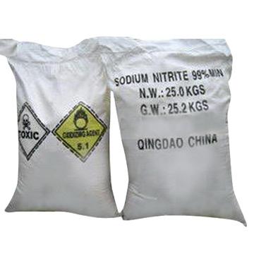 sodium nitrate and sodium nitrite