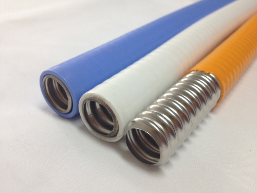 PE coated stainless steel pipe