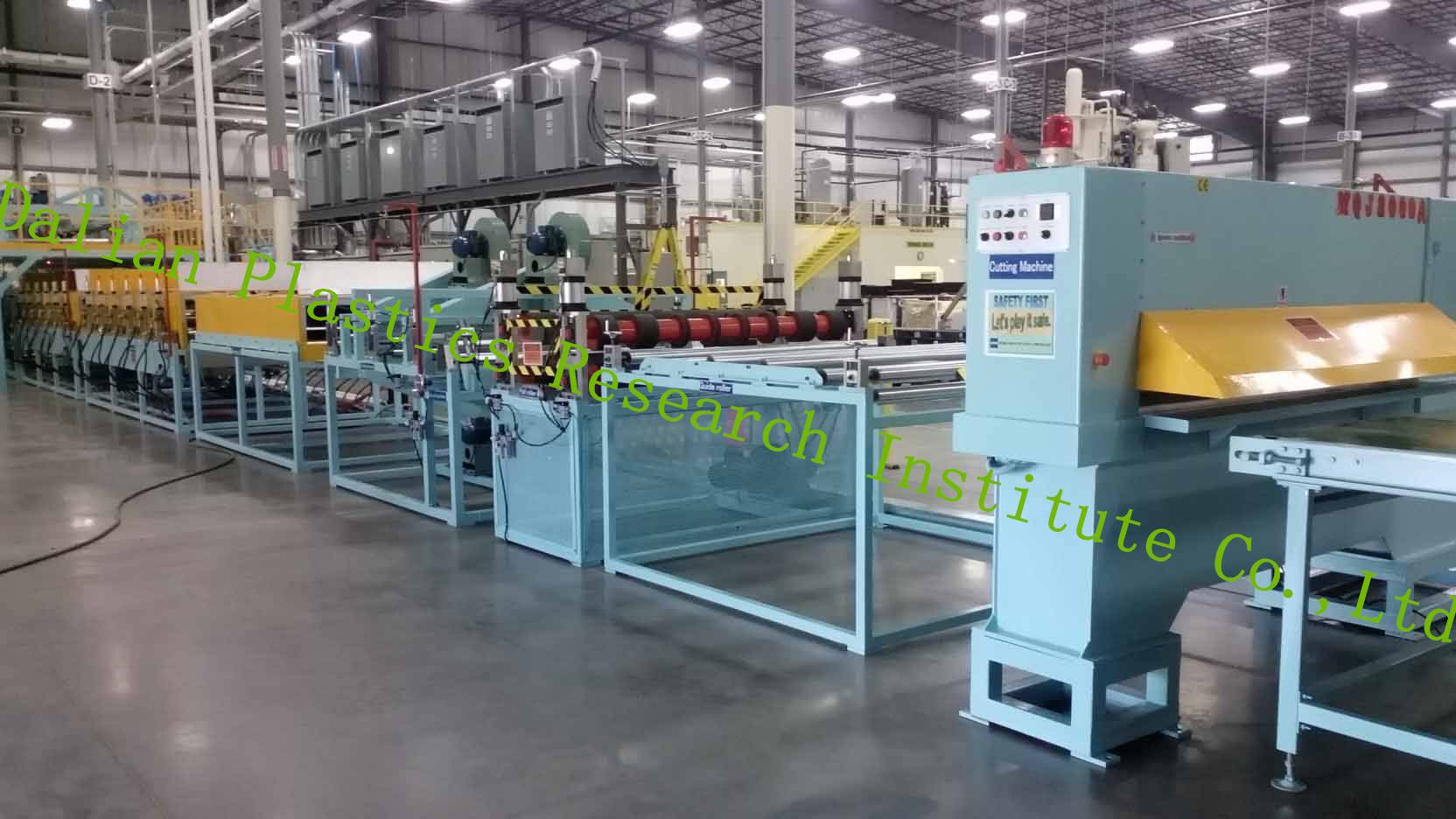 Car Interior Plastic Honeycomb Sheet Machine/Production line